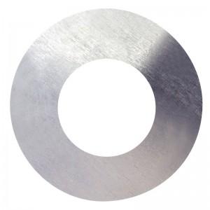 Podložka plochá, DIN 125A, zinek bílý, 3 mm, PPL3