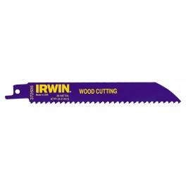 List do mečové pily pro řezání dřeva, 606R, 150 mm, 6TPI, bimetalový, Irwin, 10504150