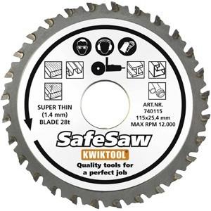 SafeSaw slabý 28T 115x25.4