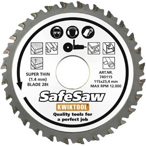SafeSaw slabý 28T 125x25.4