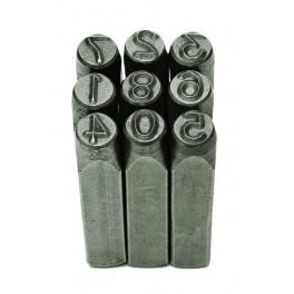 Raznice čísel, 6 mm, DIN 1451, F20972