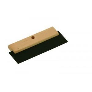 Stěrka dřevěná s gumou 180 mm