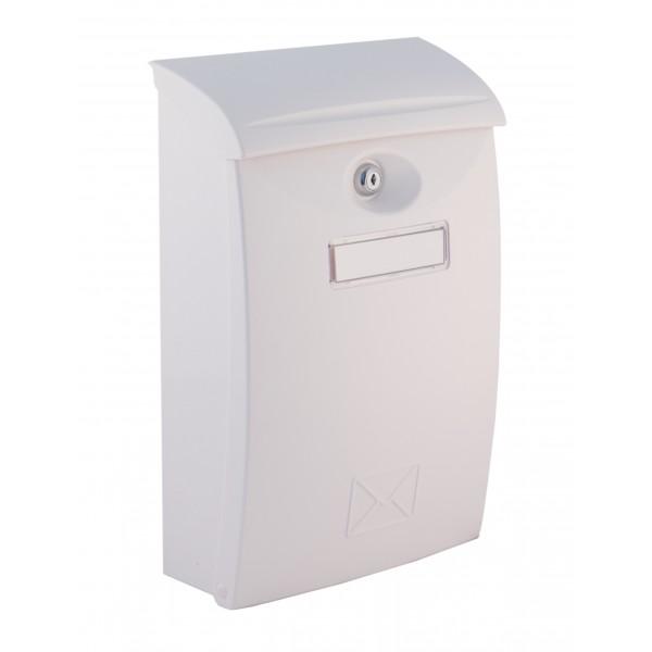 Výsledek obrázku pro poštovní schránka plastová bílá