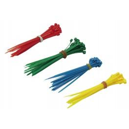 Vázací pásky, 100x2.5 mm, 100 ks, barevné, F23880
