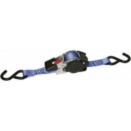Automatický ráčnový pás, 25 mm, 1,8 m, 600 kg, S-hák, 1198834