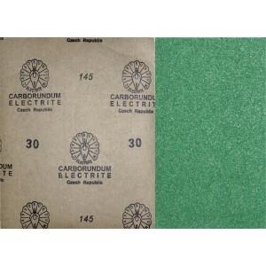 Brusný papír zelený, ZE30