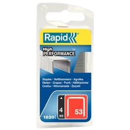 Spony RAPID, typ 3 / 53, 4 mm, 1600 ks, R3/4
