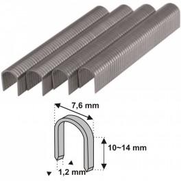 Sponky na kabely, 10 mm, 1000 ks, Dedra, 11Z510