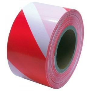 Varovací páska250M,červ-bílá b, 38948