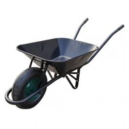 Kolečko stavební, 60 l, ocel, nafukovací kolečko, 216634